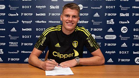 Leo Hjeld gia nhập Leeds United