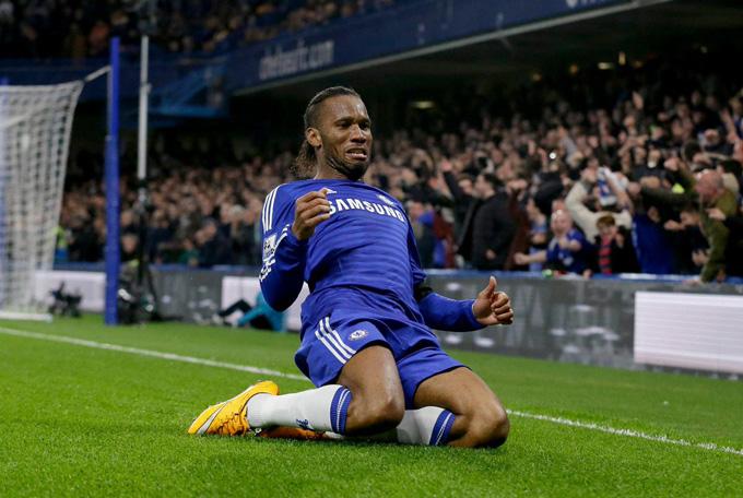 Drogba là huyền thoại của Chelsea