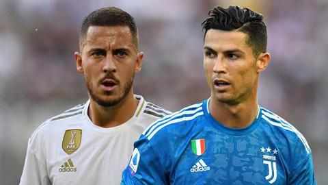 Juventus nhắm chiêu mộ Hazard thay Ronaldo