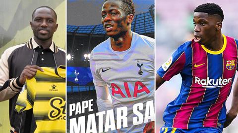 Tottenham đẩy đi người thừa, chiêu mộ sao trẻ và nhắm thần đồng của Barca