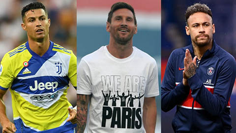 Lương Ronaldo ở Man United kém xa Messi