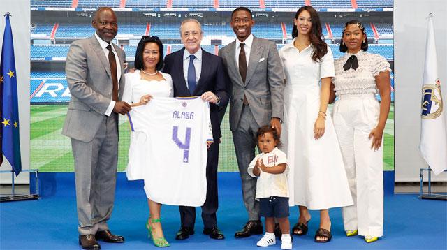 Alaba nhanh chóng ghi dấu ấn ở Real Madrid