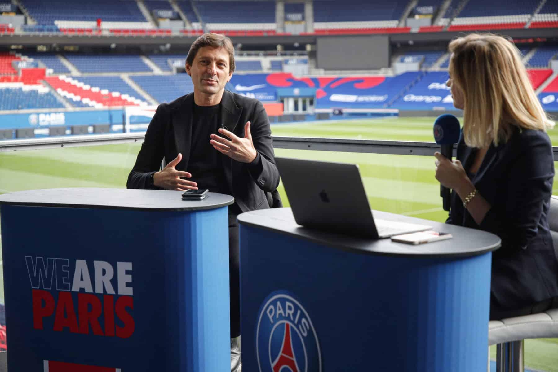 Giám đốc thể thao của PSG Leonardo tố Real Madrid tiếp cận trái phép Mbappe