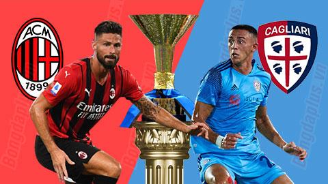 Soi kèo Milan vs Cagliari, 01h45 ngày 30/8: Xỉu trận Milan - Cagliari