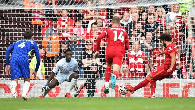 Salah gỡ hòa cho Liverpool