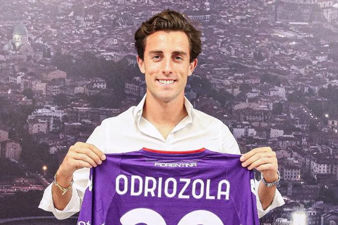 Odriozola sang Fiorentina theo dạng mượn từ Real