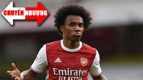 Tin chuyển nhượng 29/8: Willian chấm dứt hợp đồng với Arsenal