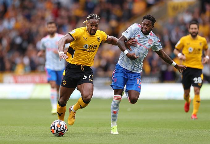 Traore khiến hàng thủ Man United chao đảo ở trận đấu này