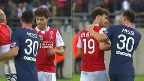 Messi có hành động gây tranh cãi sau trận ra mắt PSG