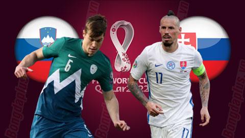 Nhận định bóng đá Slovenia vs Slovakia, 1h45 ngày 2/9