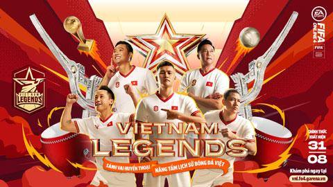 Các huyền thoại bóng đá Việt Nam bất ngờ xuất hiện trong FIFA ONLINE 4