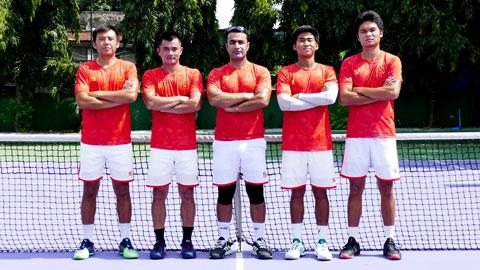 Đội tuyển quần vợt Việt Nam dự Davis Cup 2021