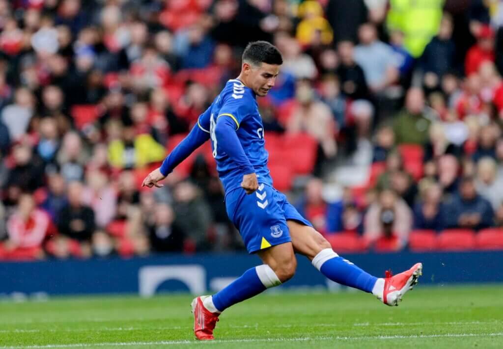 James có dấu hiệu hồi sinh trong màu áo Everton mùa trước