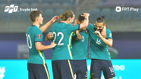 Australia với ưu thế thể hình - Nguồn ảnh: AFC.