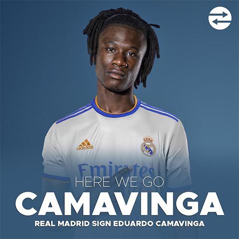 Camavinga sắp là người của Real Madrid