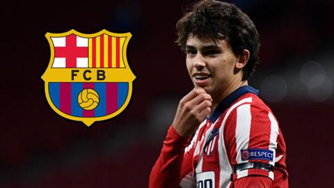 Barca bất ngờ hỏi mượn Joao Felix của Atletico