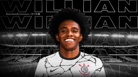 Willian chính thức hồi hương bằng hành động tri ân Arsenal