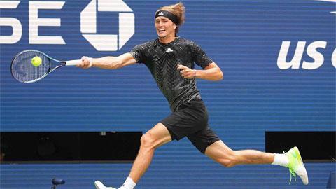 Alexander Zverev thắng dễ trận đầu US Open 2021