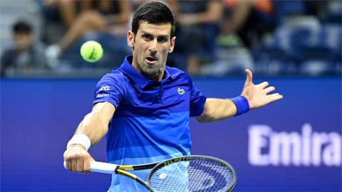 Djokovic thua set đầu tiên ở US Open 2021