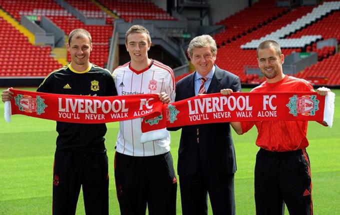 Những tân binh đắt giá của Liverpool mùa Hè 2010