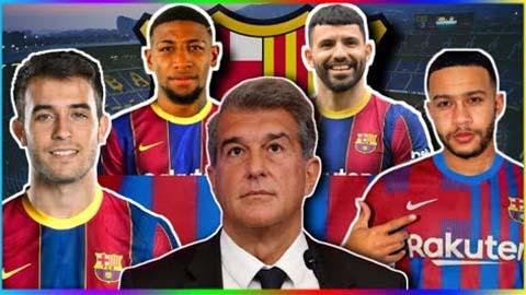 Chuyển nhượng Barca Hè 2021: Chìm trong cơn điên triền miên