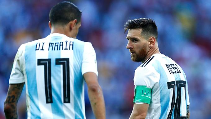 Di Maria có khi phải hi sinh cả vị trí của mình vì Messi