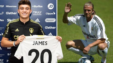Daniel James vượt Beckham thành cầu thủ bán được giá thứ 4 lịch sử MU