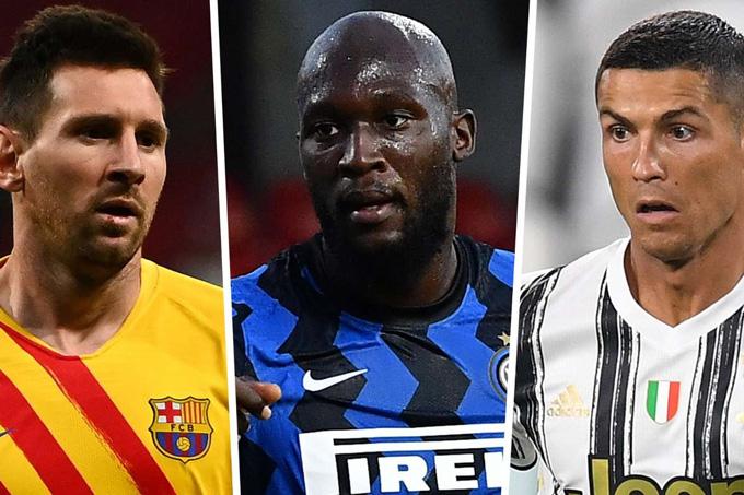 Messi, Ronaldo và Lukaku đã cùng đổi CLB trong một mùa Hè