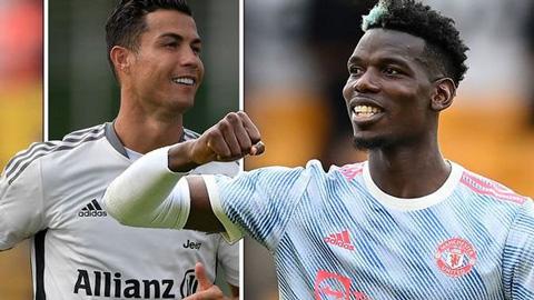 Pogba có thể được đá vị trí yêu thích tại Man United nhờ Ronaldo