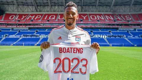 Rời Bayern, Jerome Boateng sang giải cứu Lyon