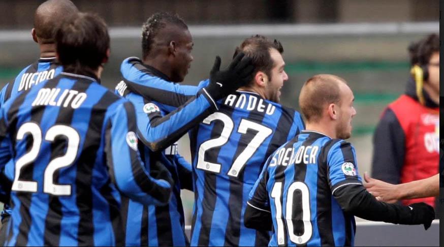 Milito, Pandev, Sneijder... đóng vai trò quan trọng trong cú ăn ba của Inter hồi 2010
