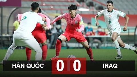 Hàn Quốc 0–0 Iraq: Sự tưởng thưởng xứng đáng cho Iraq!