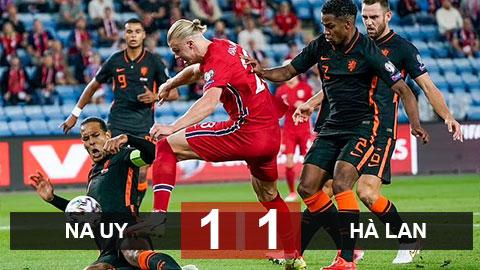 Kết quả Na Uy 1-1 Hà Lan: Haaland qua mặt Van Dijk, Hà Lan thay tướng chưa đổi vận