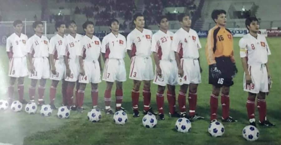Cựu tiền đạo Việt Thắng từng góp mặt trong đội hình ĐT Việt Nam đối đầu Saudi Arabia ở vòng loại World Cup 2002 cách đây 20 năm - Ảnh: FBNV