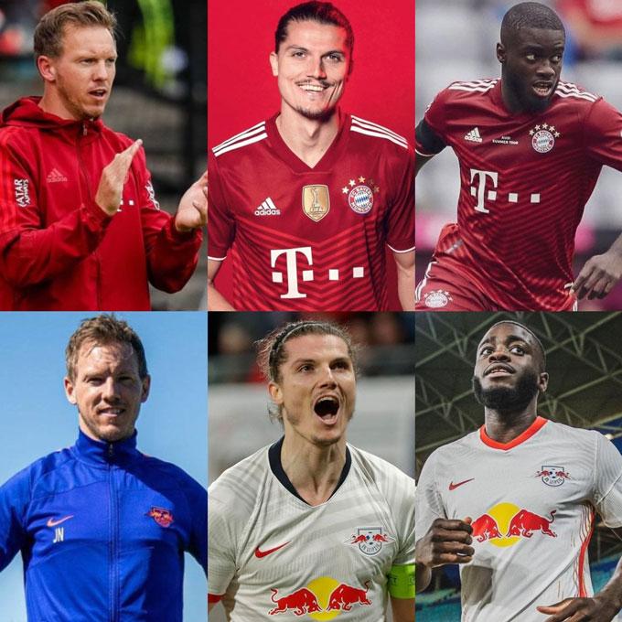 Bayern lại tiếp tục hút máu Bundesliga và lần này là RB Leipzig với HLV Julian Nagelsmann cùng bộ đôi trụ cột Dayot Upamecano và Marcel Sabitzer