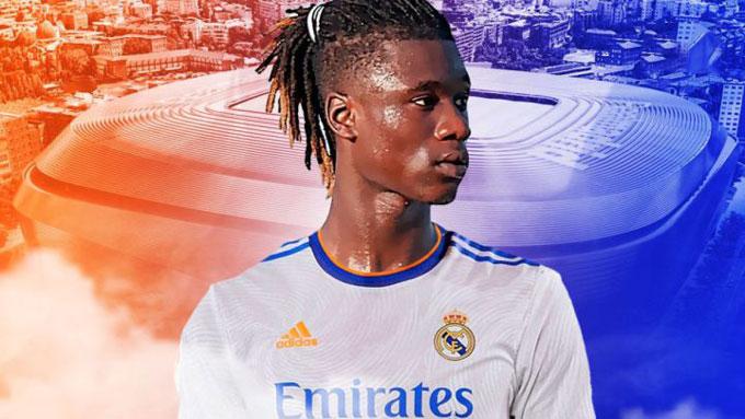 Camavinga gia nhập Real trong ngày cuối của kỳ chuyển nhượng Hè 2021