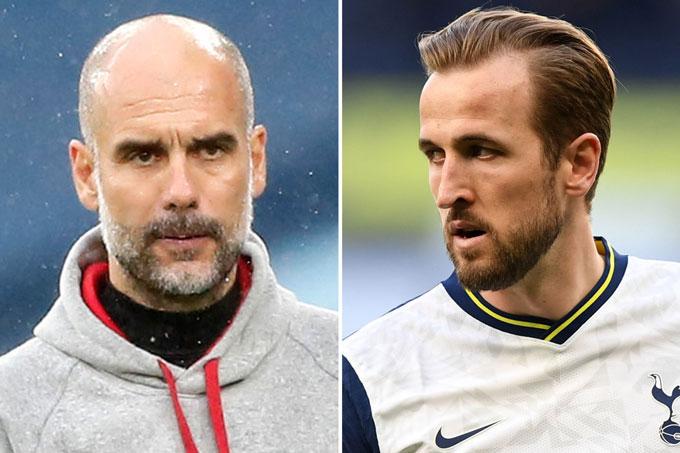 Pep và Kane đã không thể đến với nhau trong mùa Hè 2021