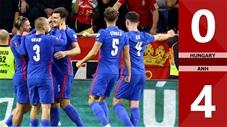 Hungary vs Anh: 0-4 (Vòng loại World Cup 2022)