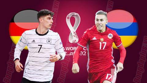 Nhận định bóng đá Đức vs Armenia, 01h45 ngày 6/9: Giành lại ngôi đầu bảng