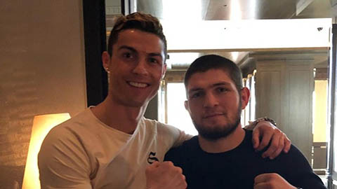 Võ sĩ Nurmagomedov biết trước Ronaldo sẽ về MU
