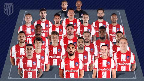 Đội hình của Atletico đang chất lượng hơn Barca và Real?