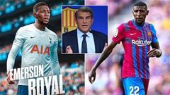 Emerson Royal tố cáo bị Barca làm mọi cách đuổi đi