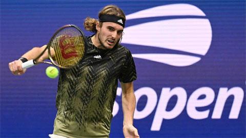 Stefanos Tsitsipas thua truyền nhân của Nadal ở vòng ba US Open 2021