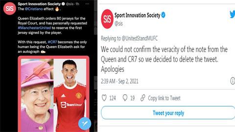 """Tin Nữ Hoàng Anh đòi Ronaldo ký tặng áo là """"pha ke"""""""
