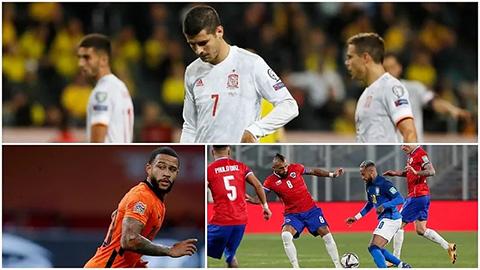 5 ông lớn nguy cơ vắng mặt tại World Cup 2022