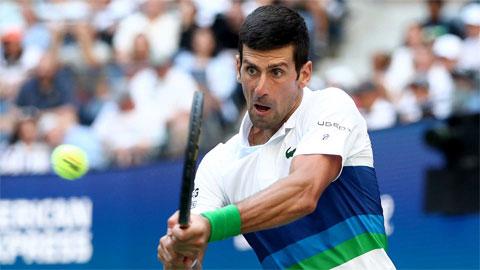 Djokovic vào vòng bốn US Open 2021