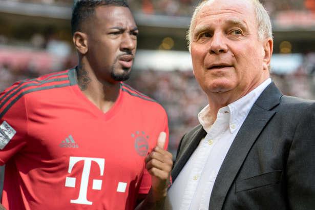 Jerome Boateng không phục Uli Hoeness
