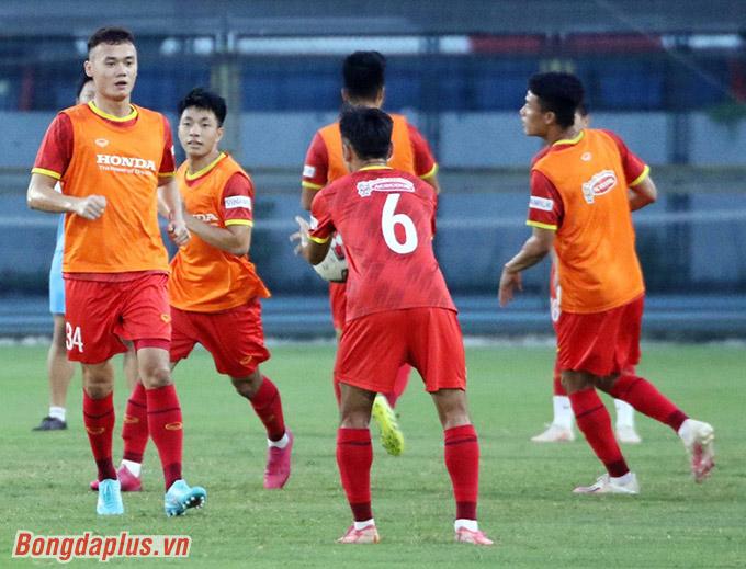 Xuân Nam tiếp tục ghi điểm với HLV Park Hang Seo -Ảnh: Đức Cường
