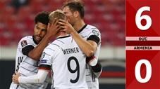 Đức vs Armenia: 6-0 (Vòng loại World Cup 2022)
