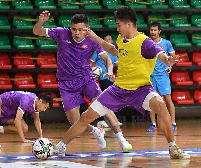 ĐT Futsal Việt Nam sẽ có trận đấu tổng duyệt cuối cùng gặp ĐT Morocco vào tối nay